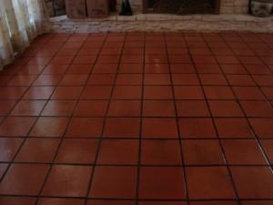 Saltillo restoration after 1